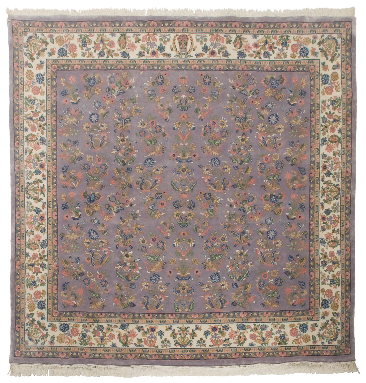 10 10 sarouk design square rug rug warehouse outlet for 10x10 carpet