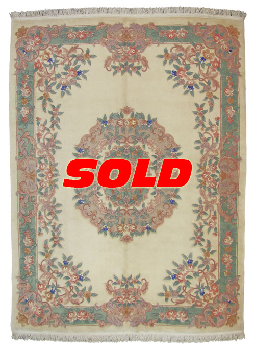 9x12 Aubusson Design Rug