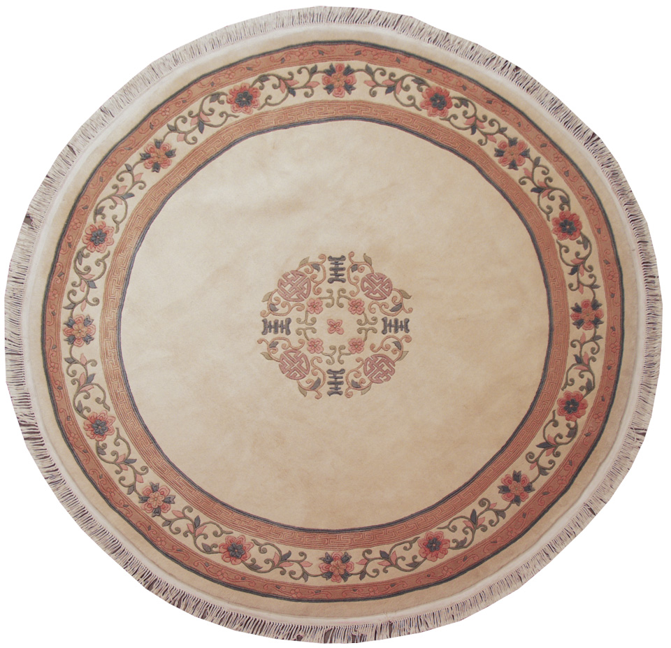 9x9 Peking Design Round Rug